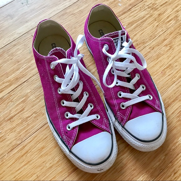 9edf669a5f87 Converse Shoes - Fuschia Converse shoes - ladies size 10